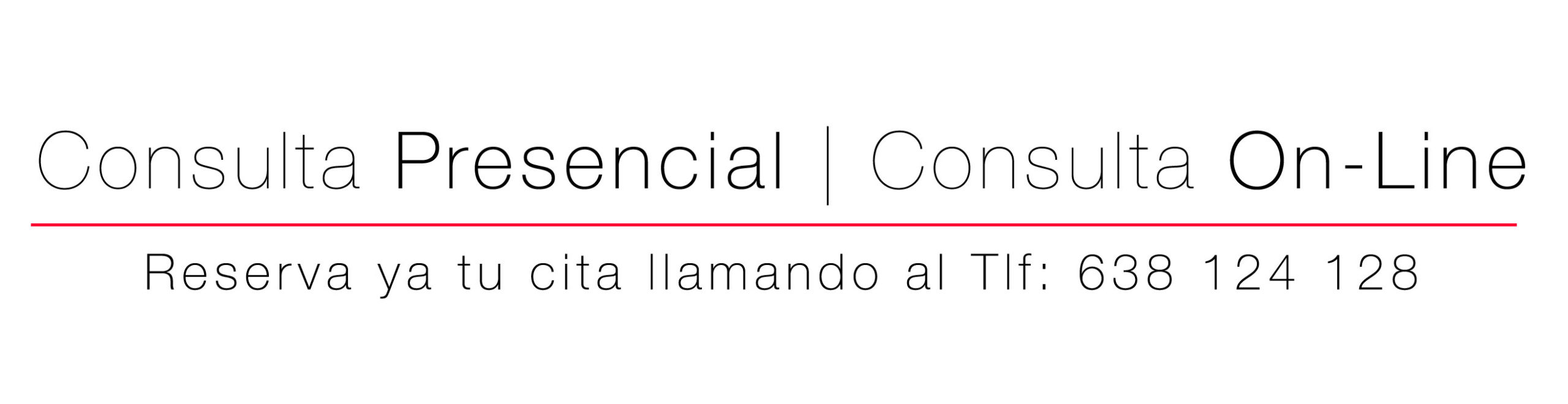 Consulta presencial y consulta On-line en la Clínica Gardoqui