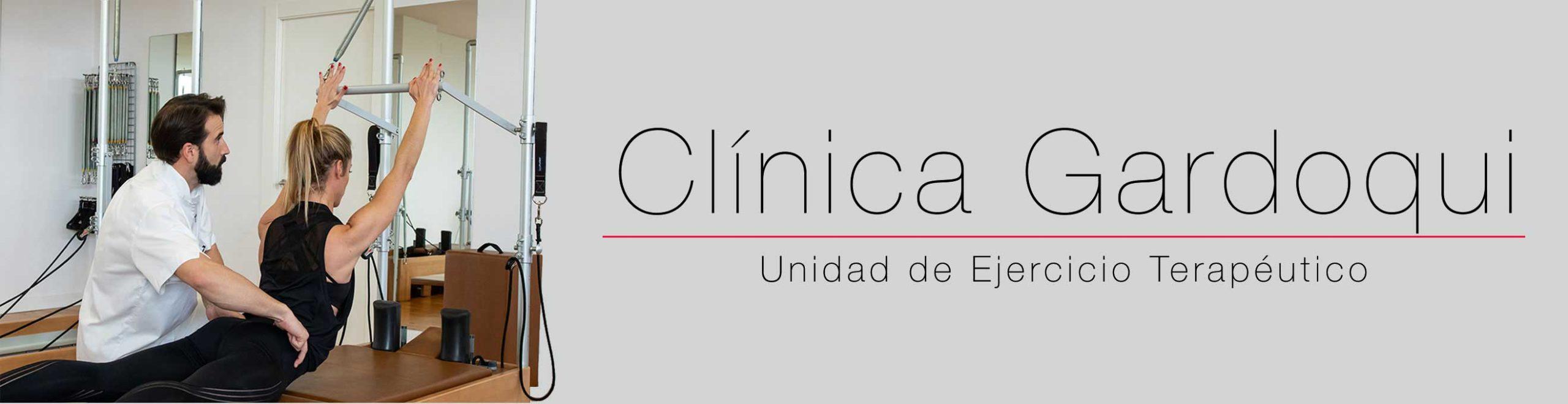 Unidad de Ejercicio Terapéutico en la Clínica Gardoqui