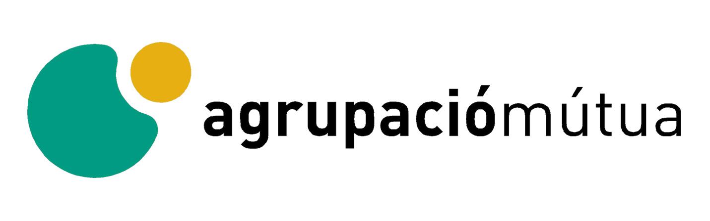 logotipo Agrupació Mútua para convenio osteopatía Clínica Gardoqui