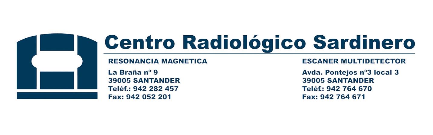 logotipo Centro Radiológico Sardinero para Clínica Gardoqui Osteopatia y Fisioterapia