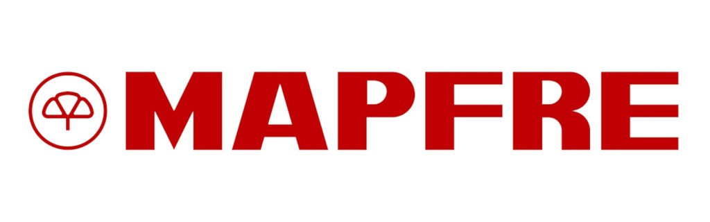 logotipo Mapfre para convenio osteopatía Clínica Gardoqui