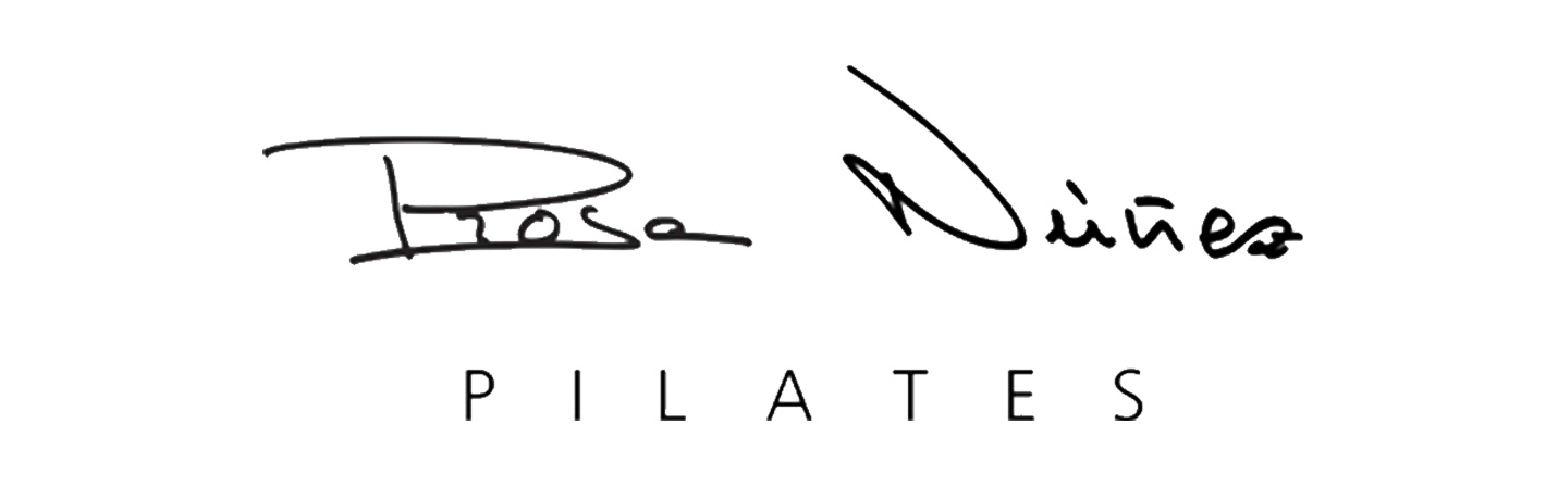 logotipo Pilates Rosa Nuñez para Clínica Gardoqui Osteopatia y Fisioterapia