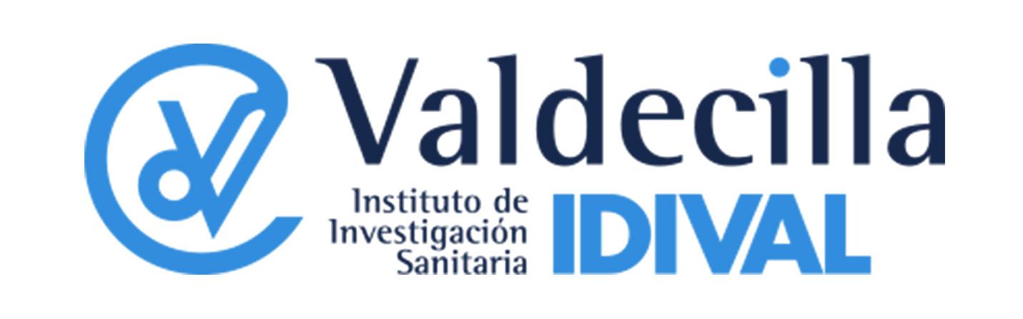 Logotipo Instituto de Investigación Sanitaria IDIVAL Valdecilla en colaboración con Jaime Gardoqui