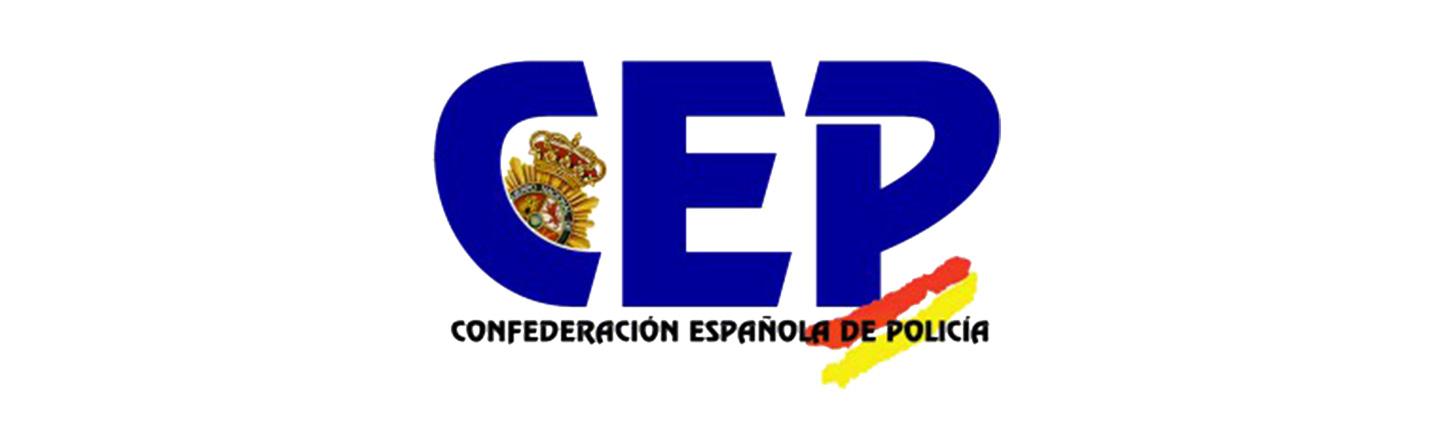 logotipo Confederación Española de la Policia para convenio osteopatía y fisioterapia en Clínica Gardoqui
